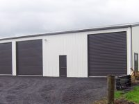 SHEDS FOR COMMERCIAL APPLICATIONS